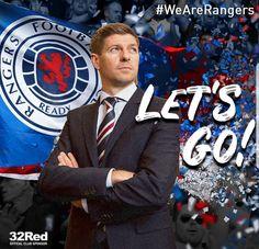🐻 #RangersFC #StevenGerrard #LetsGo