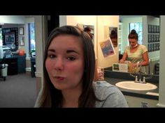 Hannah Gets Her Braces Off  Hannah sees her smile. Flip video taken the day she had her braces removed. Love seeing the reactions at this appointment.  Togrye Orthodontics.  www.bracesdoc.com