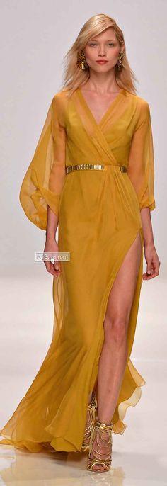 Valentin Yudashkin Spring 2014 Paris Pinned by Maria Vogue Fashion, Runway Fashion, High Fashion, Fashion Outfits, Beautiful Gowns, Beautiful Outfits, Valentin Yudashkin, Spring Summer Fashion, Spring 2014