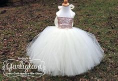 Light Pink Sequin Tutu Dress, Sequin Flower Girl Dress, flower girl dress, birthday tutu dress for sequin theme. #flowergirldress
