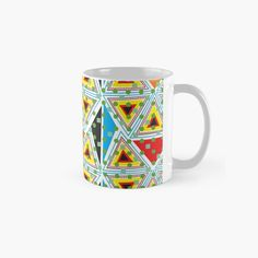 'Stunning Piece' Mug by Tropical Colors, Pattern Illustration, Sell Your Art, My Arts, Ceramics, Art Prints, Mugs, Abstract, Printed