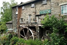 The Mill at Ambleside, Lake District, UK now the  Old Mill Tea Room.