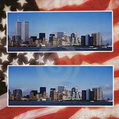 9/11 Twin Towers B4 & After  :-(