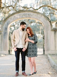 Romantic Savannah Engagement Session by Kati Rosado. See more on Savannah Soiree http://www.savannahsoiree.com/journal/romantic-savannah-engagement-session