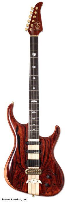 Alembic Guitars - Spectrum Baritone Coco Bolo