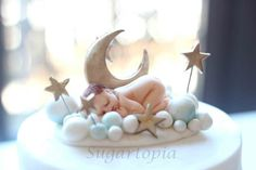 New baby cake :)  Cake by Sugartopia