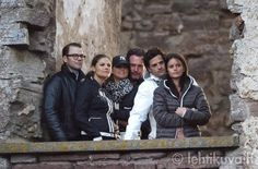 Prince Daniel,  Princess Victoria, Princess Madeleine, Chris O`Neill, Prince Carl Philip and Sofia Hellqvist attended a concert at the Borgholm palace ruin in Borgholm, Sweden