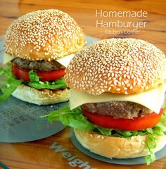 ... Buns on Pinterest | Hamburger buns, Burger buns and Homemade hamburger