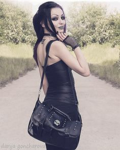 Goth Model: Darya Goncharova ✝ Goth Goth Girl Fashion Line ✝