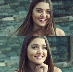 Hayat And Murat, Cute Love Stories, Western Girl, Hande Ercel, Turkish Beauty, Girls World, Girl Poses, Dimples, Woman Crush