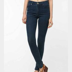 """BDG """"cigarette"""" jeans Urban Outfitters Cigarette style jean. 32"""" inseam. 8"""" rise. Great condition. Urban Outfitters Jeans Skinny"""