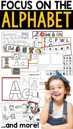 Learning the alphabet is a foundational skill in kindergarten. While some students may come to you with a knowledge of their letter names or even sounds, it is important that you do some explicit alphabet instruction. Without a solid foundation in the alphabet, students will have a difficult time transitioning to blending and reading. This resource has over 600 pages of printables, centers, and assessments!
