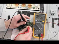 T-Con Board RUNTK5261 Test - How to Find Faulty Component Showing Bad TV Panel - YouTube