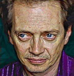 Steve Buscemi | Ian McPherson Steve Buscemi, Caricatures, Portrait, Artists, Caricature Drawing, Men Portrait, Caricature, Portrait Illustration, Portraits