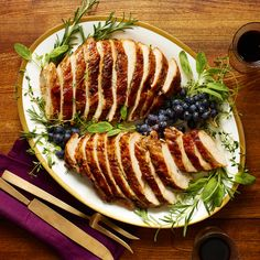 Butter-Roasted Turkey Breast