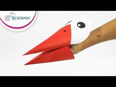 Bocian - papierowa opaska na głowę / Stork - paper headband - YouTube