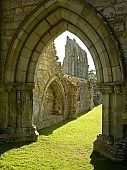 Bayham old Abbey in Kent, England.
