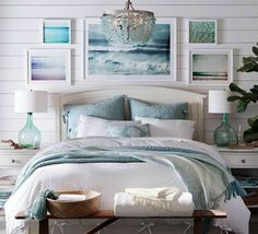 Beach Style Bedroom Ideas - Coastal bedroom ideas, ideas, and also designs to create a seaside, . ideas regarding Bedroom themes, Coastal bedrooms and Beach Residence Decoration. Interior Exterior, Home Interior, Modern Interior, Kansas City, Interior Design Advice, Coastal Bedrooms, Small Bedrooms, Master Bedrooms, Beach House Decor