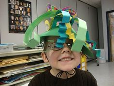Silly Hats (reading integration, Twelve Hats for Lena: A Book of Months, by Karen Katz)