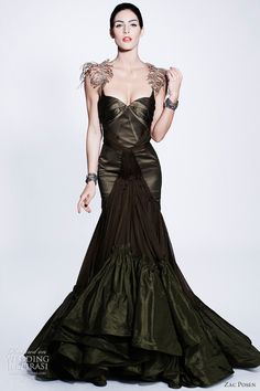 zac posen dress pre fall 2012
