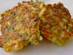 Fritters are a main staple in the Jamaican breakfast diet. Many Jamaicans can relate to the days of their childhood when Grandma or Mommy usually got up early, especially on a Saturday or Sunday mo… Jamaican Cuisine, Jamaican Dishes, Jamaican Recipes, Beignets, Pumpkin Fritters, Corn Fritters, Banana Fritters, Zucchini Fritters, Corned Beef Fritters