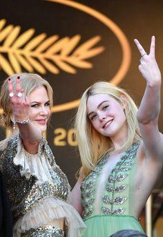 Nicole Kidman ✾ and Elle Fanning ✾