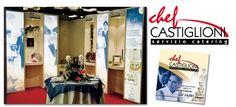 Chef Castiglioni - Stand, brochure e realizzazione marchio. Realizzazione: Agenzia Verde