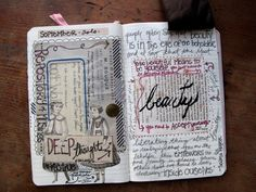 A girl's blog listing tons of her ideas and pictures of her journals. Great inspiration!