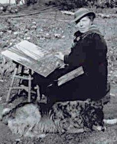 "Grand Duchess Olga Alexandrovna Romanova of Russia painting. ""AL"""