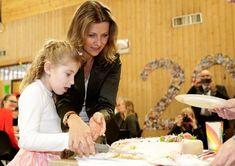 Princess Märtha Louise visited Kurland school in Sarpsborg