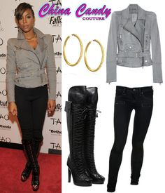 Kelly Rowland OUTFITS | China Candy Couture - Urban Fashion Blog: Style Steals: Kelly Rowland