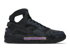 Officiel Nike Air Flight Huarache - Chaussure de Nike Basket-ball Pour Homme Noir 705005-009