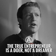 The true entrepreneur is a doer, not a dreamer. Success, Goals, Motivational Quotes, Daily Motivation, Inspiration, Inspirational Quotes, Inspiration, Personal Growth, Personal, Good Morning,  Personal Development, Successful Mindset, Positive Thinking, Achievement, Boss, Self Made Wise Quotes, Success Quotes, Motivational Quotes, Inspirational Quotes, Good Motivation, Motivation Inspiration, Work Ethic, Entrepreneur Motivation, Self Improvement Tips