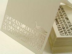 #invitacion #boda #corte #laser #wedding #invitation #lasercut #tarjeta #card