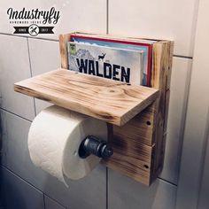 Toilettenpapierhalter / 100% Handgemacht / Made in Germany