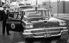 Unas de las primeras patrullas usadas por la PTJ 1958