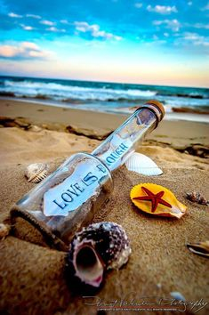 Message in a bottle<3