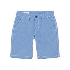 Boy's blue and white bermuda SUN68 SS15 KIDS #SUN68 #SS15 #kids #boy #bermuda