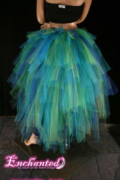 peacock costume idea - great for a low budget DIY costume