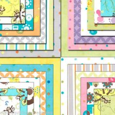 "Moda Fabric Jelly Roll Grow with Me by Deb Strain 40 2 5"" Strips | eBay"