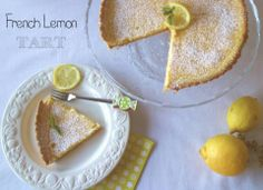 "Cook the cake: French lemon tart. Reto ""Alfabeto Dulce"""