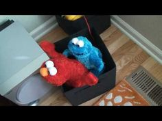 Elmo and Cookie Monster Have Some Adult Fun! Discovered completely by accident by putting the toys away, it just had to be recorded and shared. Alone these toys seem innocent, but together, it is just wrong. Elmo Live and Tickle Me Extreme Cookie Monster.