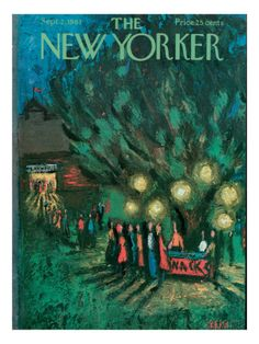 The New Yorker Cover - September 2, 1961 Premium Giclee Print - New Yorker Cover Quiz