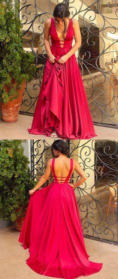 evening dresses,prom dresses,deep v neck prom dresses,backless evening dresses,prom dresses for women,prom dresses for teens,charming prom dresses,