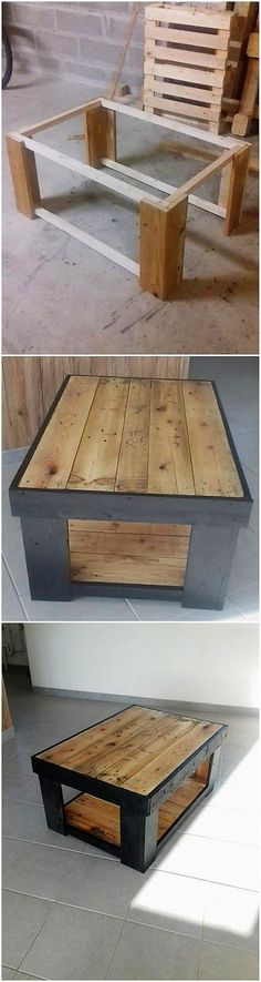Last on our list we have once again added up the list with the wood pallet table idea that is becoming one of the latest trend of furniture ideas these days. This introduce you with the fine looking idea of the table wood pallet where the coverage taste of the modernity has been done best.