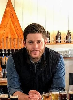 Close up of Jensen for Austin Monthly at Family Business Beer Co