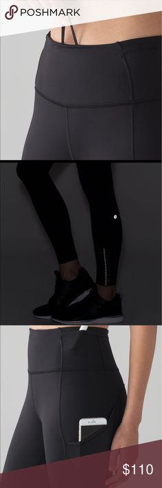 Fast and Free 7/8 Tight ll Nulux 25 NWOT.  Barely there,sweat wicking, run tights.  Very comfortable. Lululemon Pants Ankle & Cropped