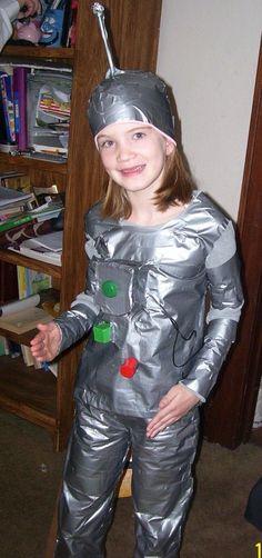 robot costume homemade - Google zoeken
