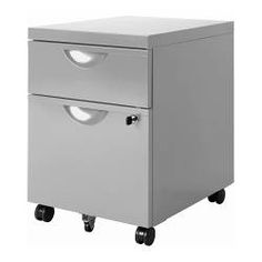 "ERIK Drawer unit w 2 drawers on casters - IKEA, $69.99, Article Number: 401.028.41, Width: 16 1/8 "" Depth: 19 5/8 ""Height: 22 1/2 ""Weight: 35lb .Main parts: Steel, Pigmented epoxy/polyester powder coating. Lock and key included."
