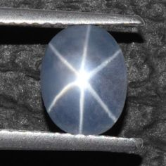 1.93 Cts Natural 6 Rays Sharp Blue Star Sapphire Unheated Oval Cab 8x6 mm Burma #Unbranded